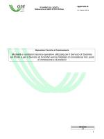 DTF Disposizioni Tecniche di Funzionamento