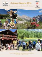 programma settimanale Outdoor Moena 2014