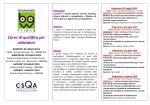 Programma Corso BF 2014