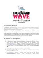 Regolamento Castellabate wave music contest