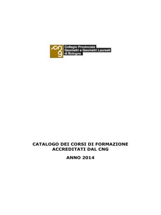 Catalogo 2014 - Collegio dei geometri