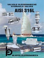 AISI 316L - Oleodinamica Bi.Effe (S.R.L.)