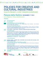 POLICIES FOR CREATIVE AND CULTURAL INDUSTRIES
