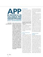 App di ricerca in valanga per Smartphone