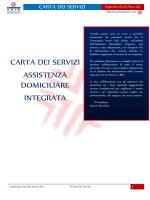 CARTA DEI SERVIZI ADI ASL Milano 1