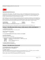 Scheda di dati di sicurezza Sezione 1: Identificazione della - K-FLEX