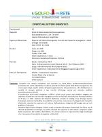 Brochure dettaglio corso Esperto nel settore energetico