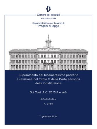 216/4 - Camera dei Deputati