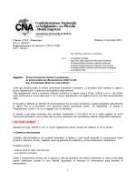 etichettatura dei prodotti alimentari 11/10/2014