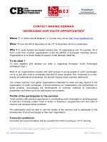 contact making seminar