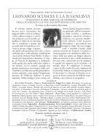 vedi scheda - Amici di Leonardo Sciascia