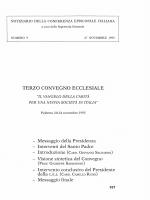 Vangelo della carità per una nuova società in Italia