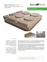 Massetto Radiante in cementolegno e fibra di legno BetonRadiant