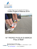 Trofeo Puglia di Marcia 2015