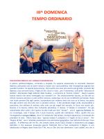 III^ DOMENICA TEMPO ORDINARIO - Parrocchia di Rossano Veneto