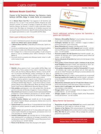 Bolzano Bozen Card Plus (pdf)