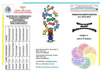 consulta brochure - Istituto Comprensivo Francesco Guarini di