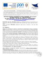 ITET Pio La Torre Disciplinare di gara Asse II
