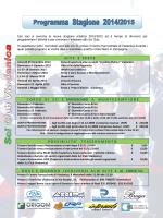 Programma Stagione 2014/2015