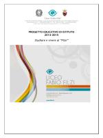 PROGETTO DI ISTITUTO 2014-15