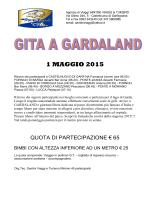 gardaland 1 maggio 2015 - santiniviaggieturismo.it