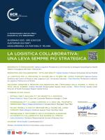 LA LOGISTICA COLLABORATIVA: UNA LEVA - Indicod-Ecr