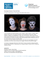 Genealogia Culturale e Teoria del Clown Convegno