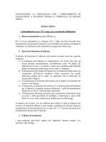 integrazione Protocollo procedimenti separazione e divorzio