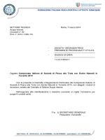 Campionato Italiano di Società di Pesca alla Trota con Esche