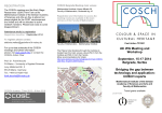 COSCH Belgrade 2014_Flyer