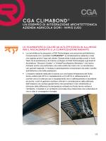 CGA CLIMABOND® - cga technologies