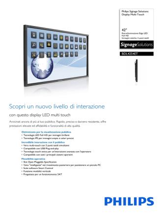 BDL4254ET/00 Philips Display Multi