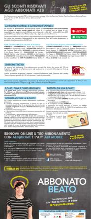 Abbonamenti ATB 2014/2015