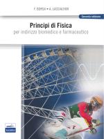 Principi di Fisica PER INDIRIZZO BIOMEDICO E