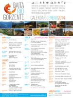 GORZENTE CALENDARIOEVENTI2014