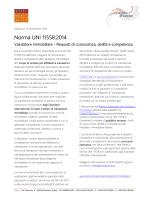 Norma UNI 11558:2014