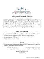 Delibera del Direttore Generale n. 686 del 11/08/2014 Oggetto