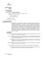 Piredda Martina - Università degli studi di Cagliari.