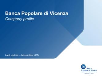BPVi Group - Banca Popolare di Vicenza