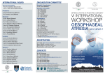 Oesophageal Atresia, any news? - Ospedale Maggiore Policlinico