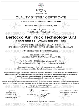 Bertocco Air Truck Technology S.r.l