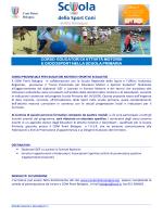 Il programma - CONI Emilia Romagna