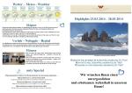 Wetter – Meteo - Weather Verleih – Noleggio – Rental