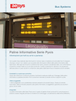 Paline Informative Serie Pyxis