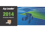Catalogo AgLeader 2014