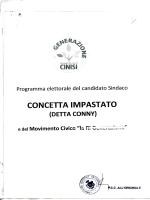 CONCETTA IMPASTATO - Comune di Cinisi