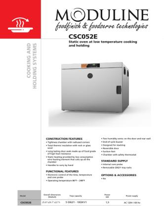 CSC052E - ModulineUSA