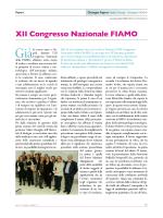XII Congresso Nazionale FIAMO