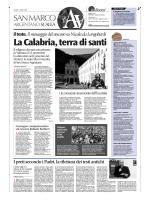 La Calabria, terra di santi - Diocesi San Marco