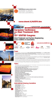 European Conference on Heat Treatment 2015 22nd IFHTSE